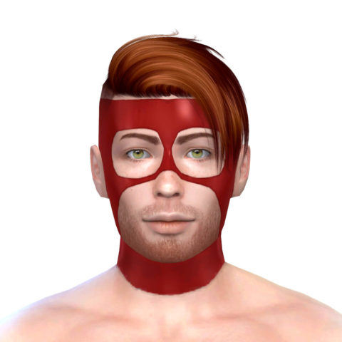 "Latex Mask 3 ""Hero"""