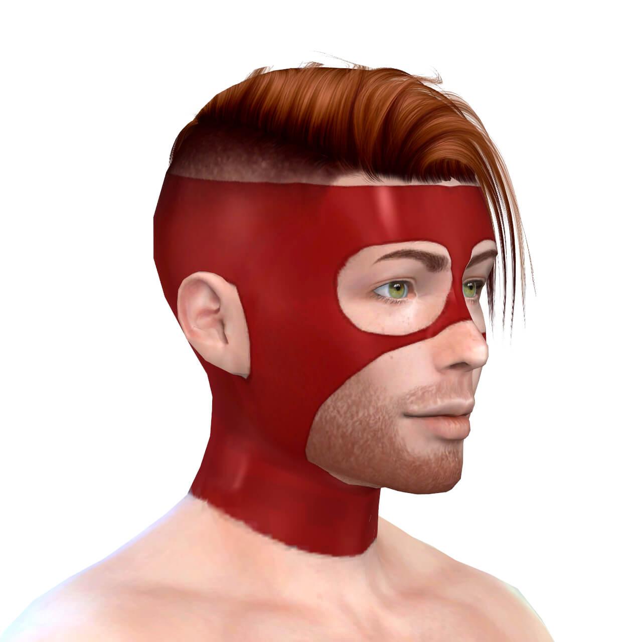 Latex Mask 3 Hero