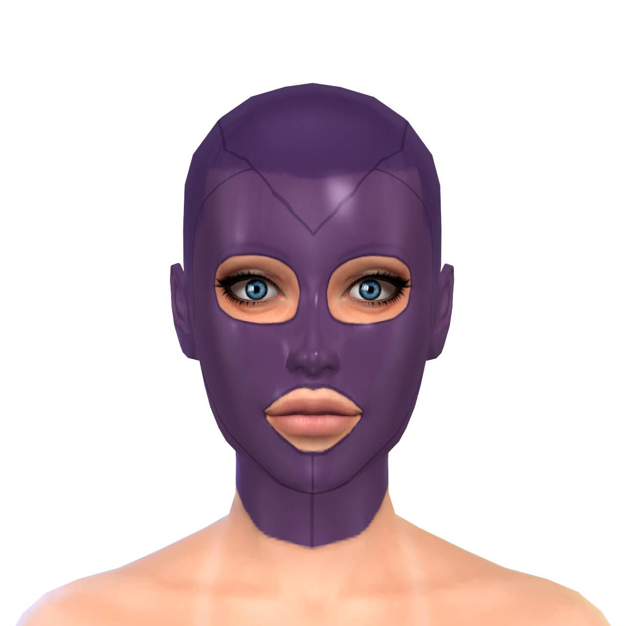 Latex Mask 1