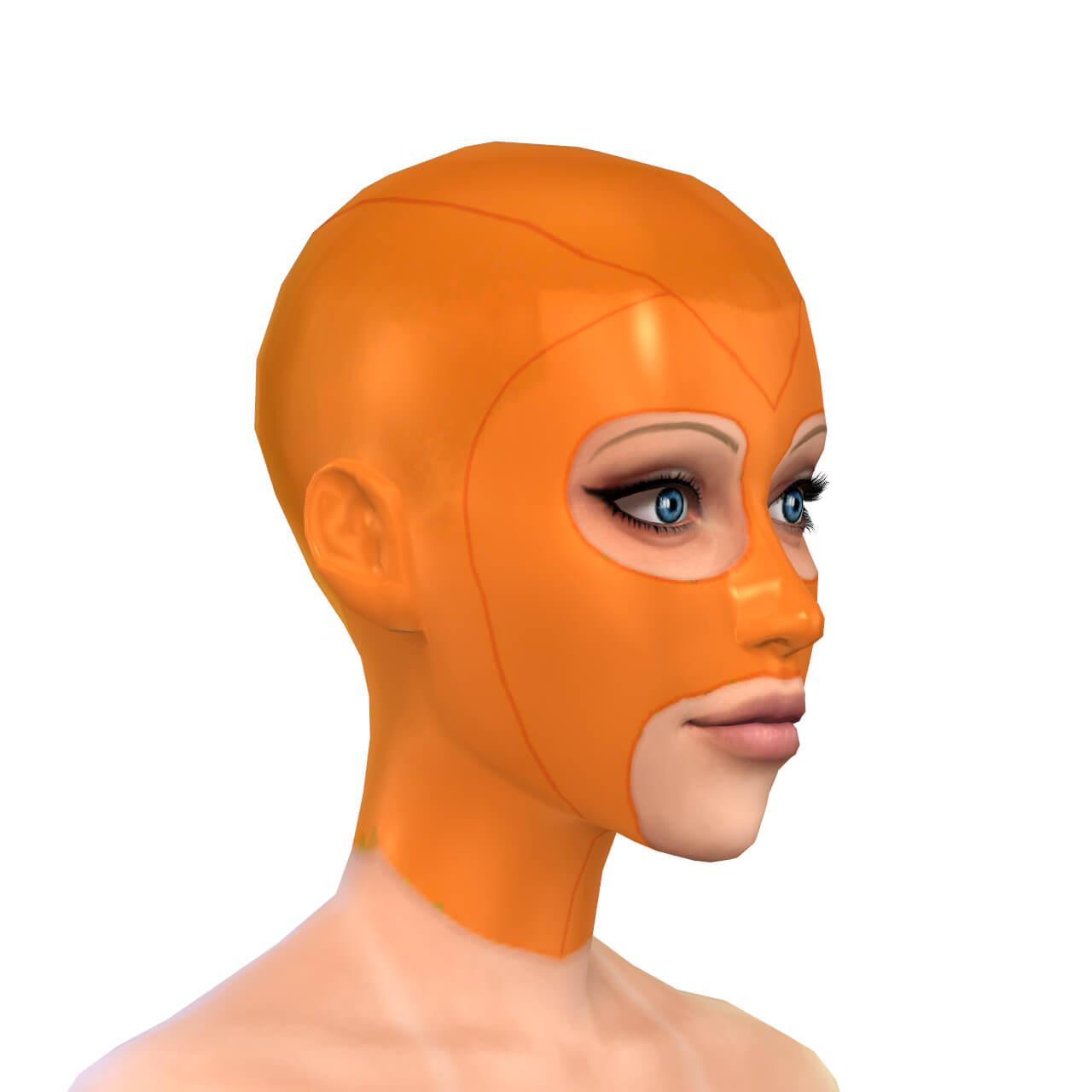 Latex Mask 2