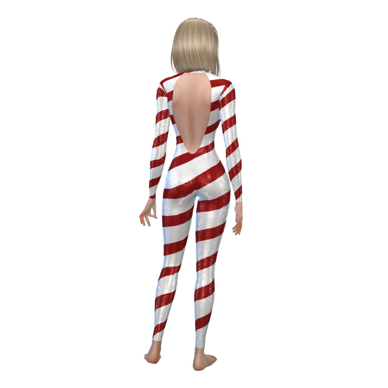 Latex Lollypop Suit